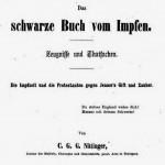Deckblatt Das Schwarze Buch vom Impfen Nittinger