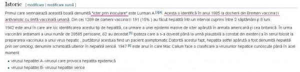 Hepatita+B+istoric+Wikipedia