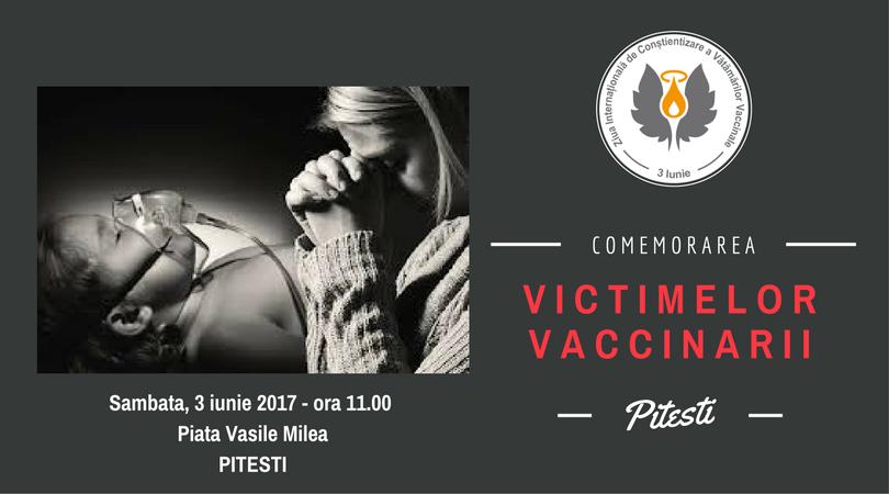 Comemorare victime vaccinare - Pitesti