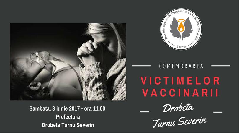 Comemorare victime vaccinare - Turnu Severin
