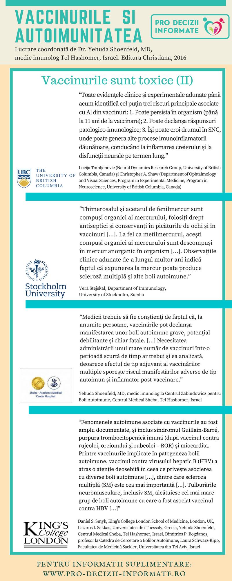 Vaccinurile si autoimunitatea-verso